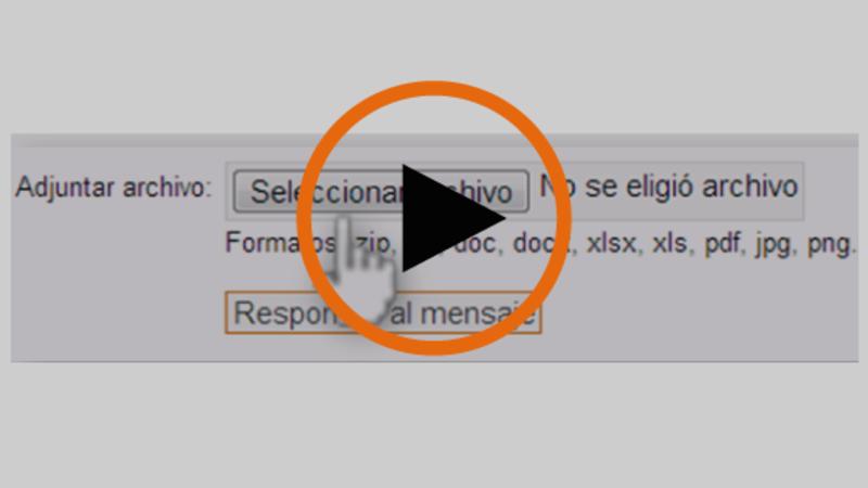Cómo anexar un archivo a la respuesta de una pregunta