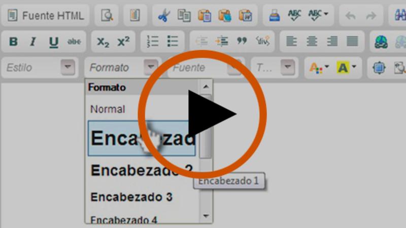 Cómo ampliar la información utilizando títulos y subtítulos